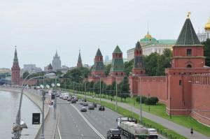 Kreml am Moskau-Ufer